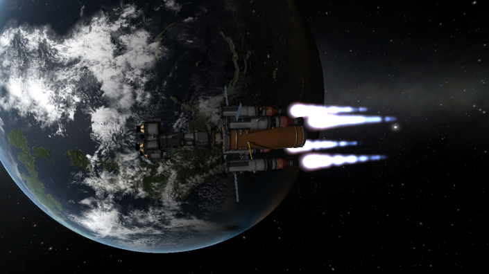 The RIS starts carrying the lander to Dres